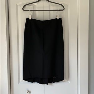 Express Midi Pencil Skirt, back flounce at calf